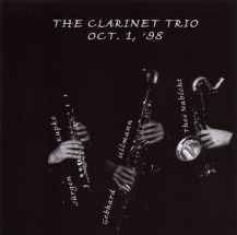 the clarinet trio - oct.1, '98